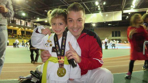 Livia et papa